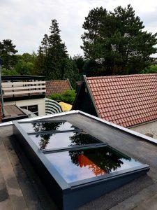 Houten lessenaarsdak vrij op het dak 6.3